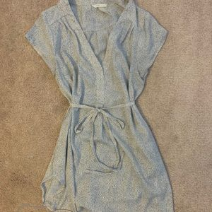 H&M mama faux wrap blouse